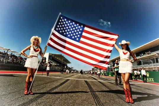 grid girls,Гран при на САЩ