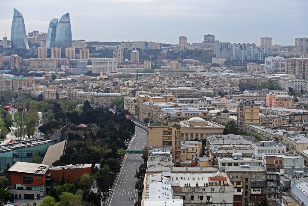 Азербайджан,Баку,Гран при на Азербайджан