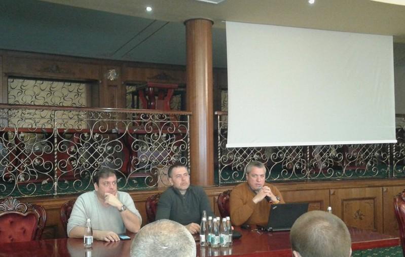 Иван Шопов, Николай Златков и Александър Ковачев