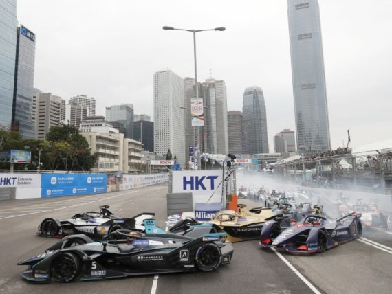 Формула Е Хонконг 2019