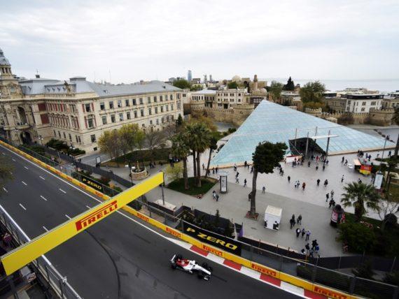 Гран при на Азербайджан, Баку