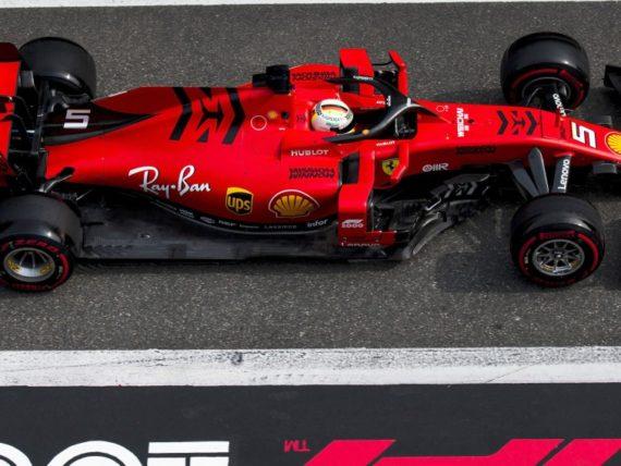Себастиан Фетел, Ферари Китай 2019