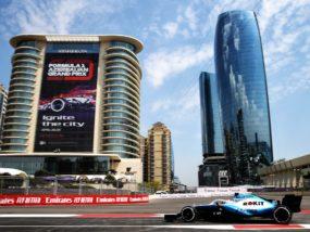 Уилямс Гран при на Азербайджан