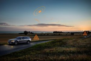 Volvo Cars, Hazard Light Alert, Volvo V90 Cross Country