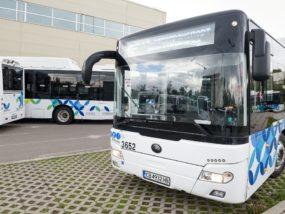 YUTONG, градски транспорт, природен газ