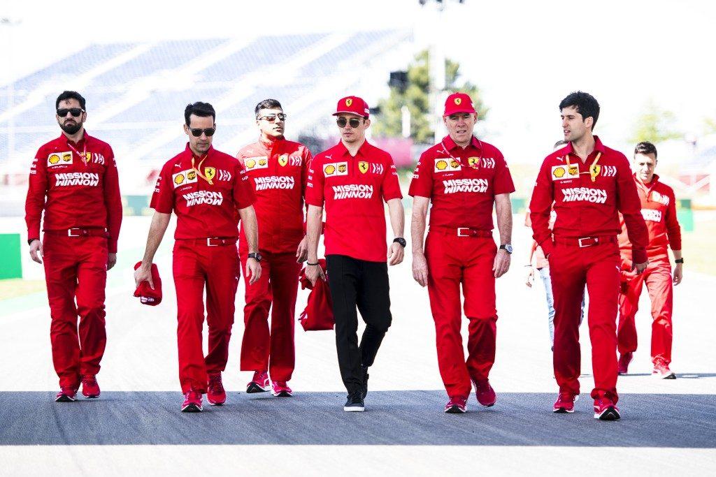 Ферари преди Испания 2019