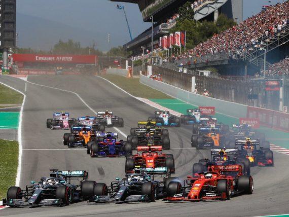 старт, Гран при на Испания 2019