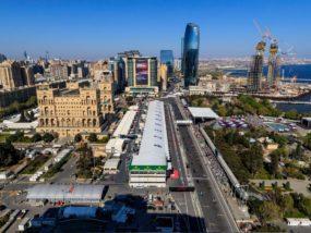 Гран при на Азербайджан, старт, Формула 1, Баку
