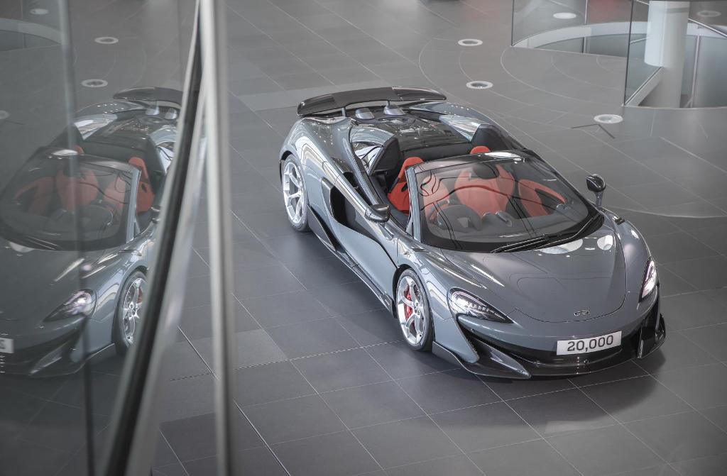 McLaren Automotive, McLaren, McLaren 600L Spider