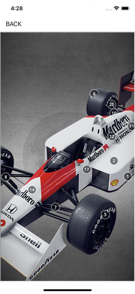 Senna 360, Ayrton Senna