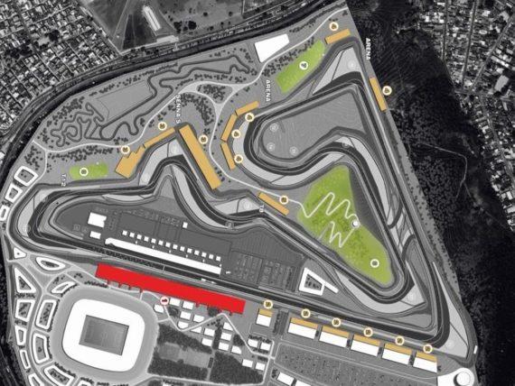 Конфигурацията на трасето в Рио де Жанейро