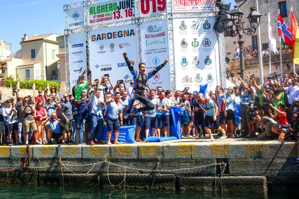 Дани Сордо, рали Сардиния 2019