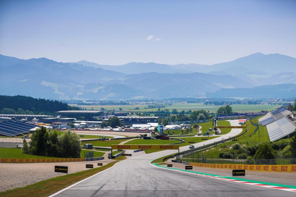 Ред Бул Ринг, Гран при на Австрия