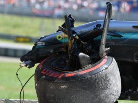 Валтери Ботас, гума, катастрофа