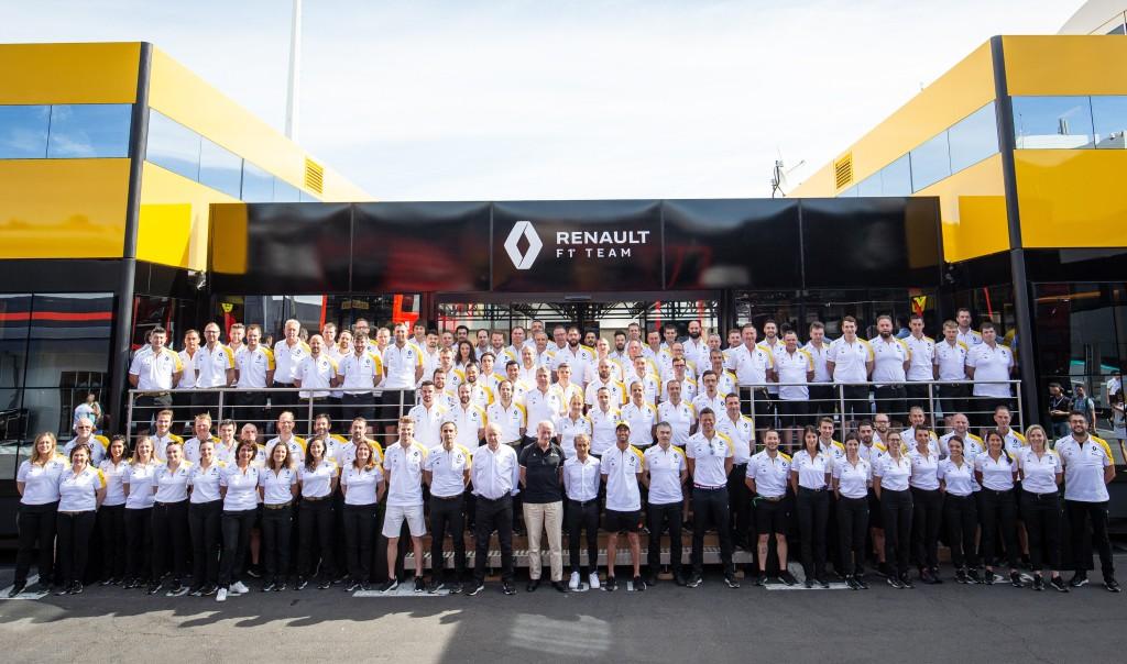 Екипът на Рено 2019 Франция