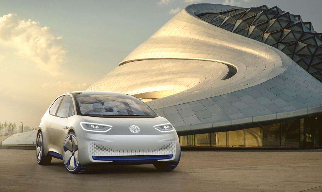 Volkswagen ID.3, автосалон