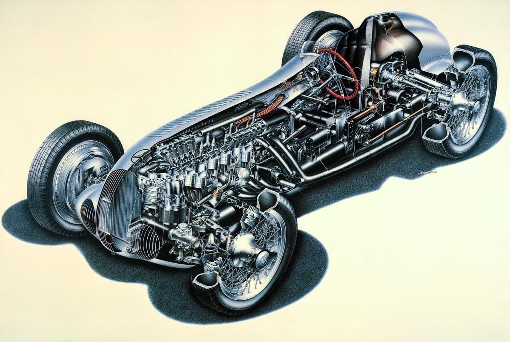 Мерцедес-Бенц W125