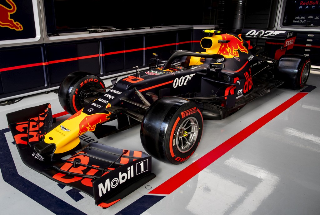 Ред Бул 007 Гран при на Великобритания