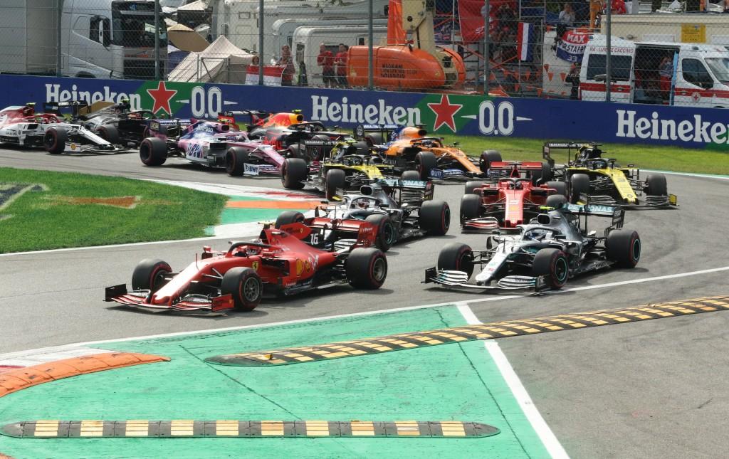 старт Монца, Гран при на Италия
