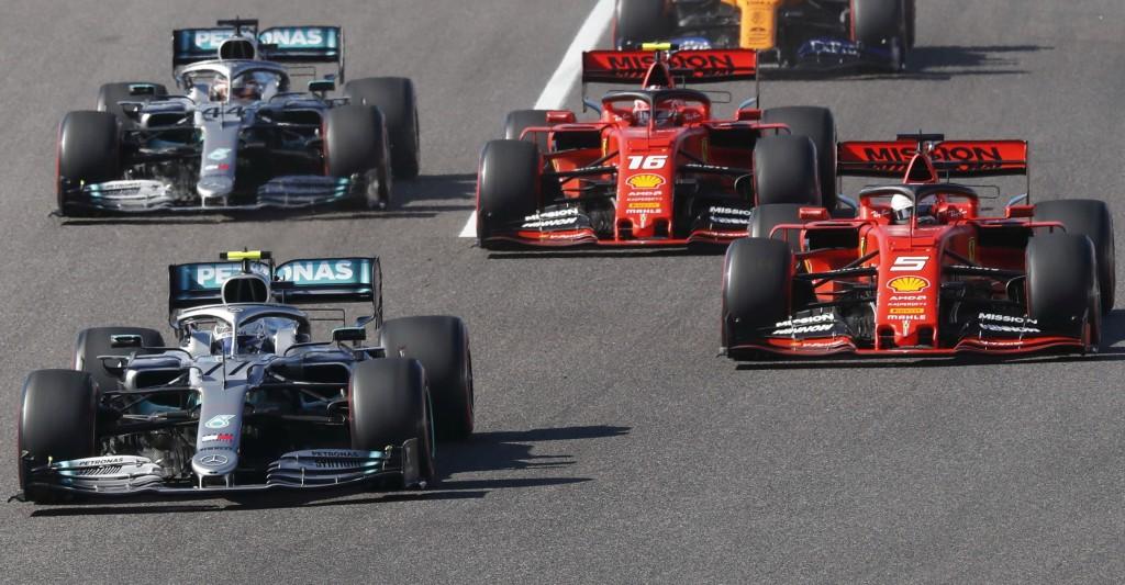 Гран при на Япония 2019 старт