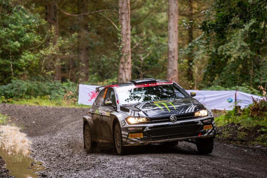 Петер Солберг, WRC2, рали Уелс