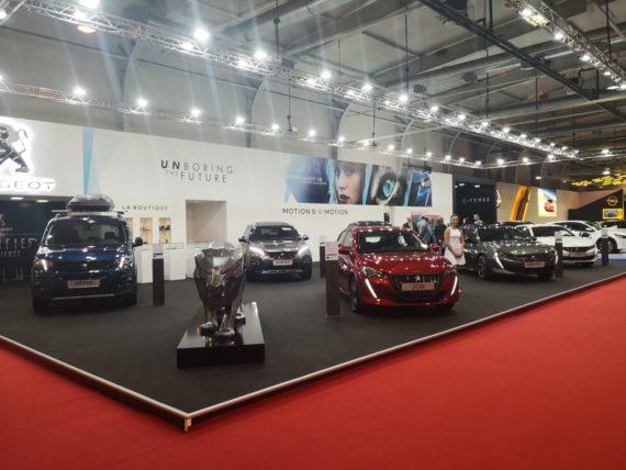 Peugeot, салон, изложение, автосалон