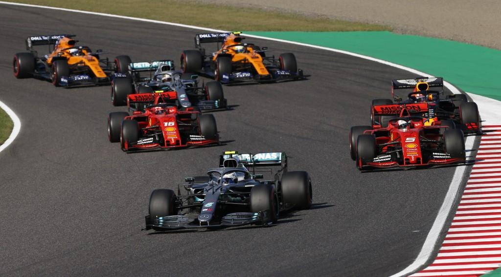старт Гран при на Япония 2019