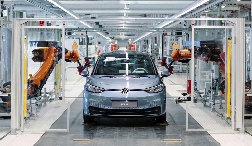 Volkswagen ID.3, завод