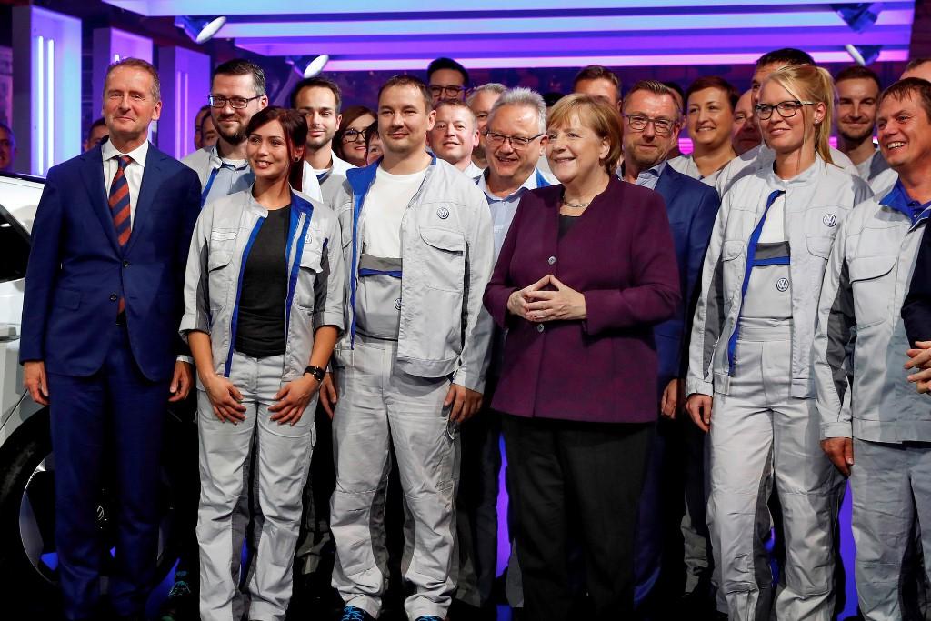 Фолксваген ID.3; Ангела Меркел