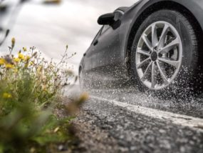 Nokian Tyres, дъжд, аквапланинг