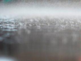 дъжд, писта