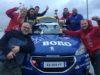 Екипът на Astra Racing след титлата на рали спринт 2019 г.