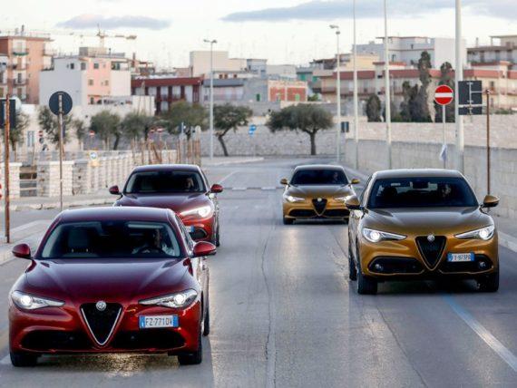 Alfa Romeo Stelvio e Giulia
