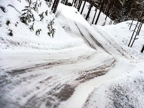 рали Швеция, сняг