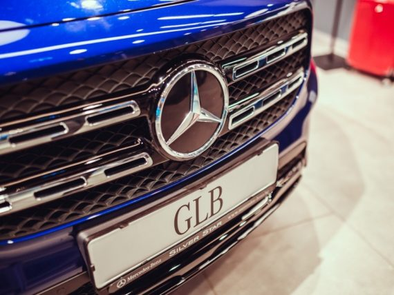 New Mercedes-Benz GLB