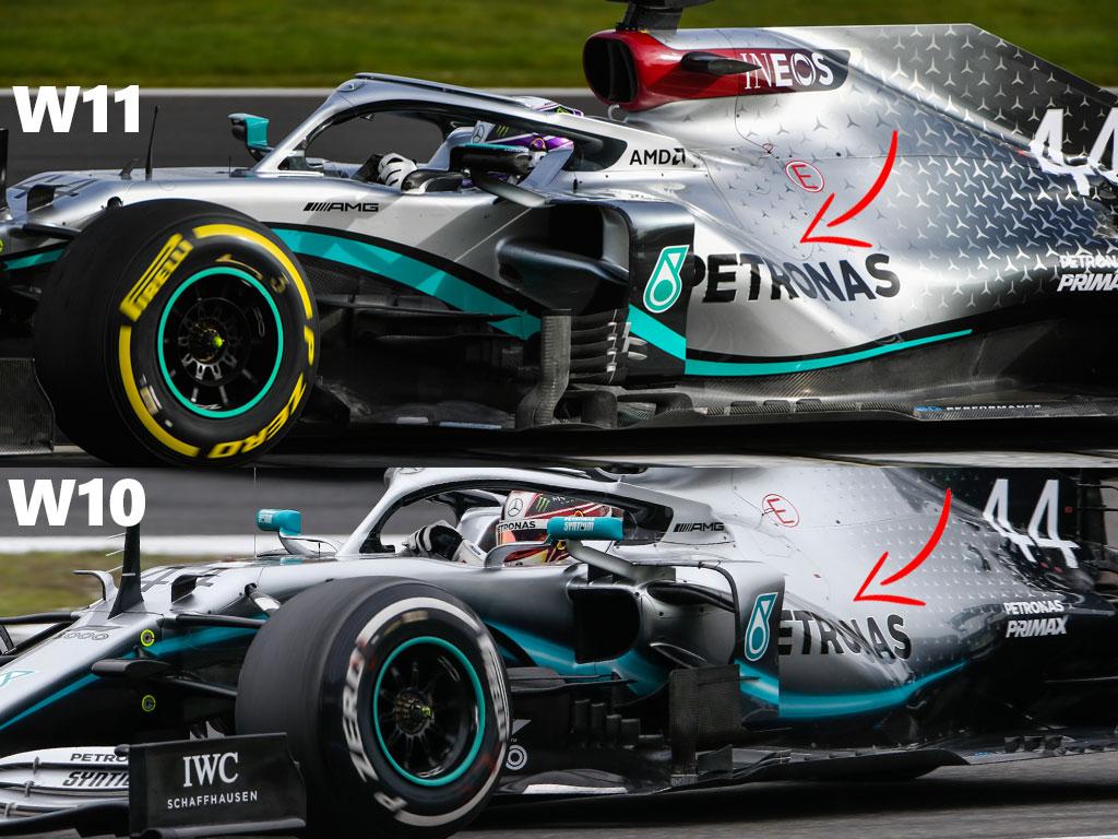 Мерцедес F1 W11