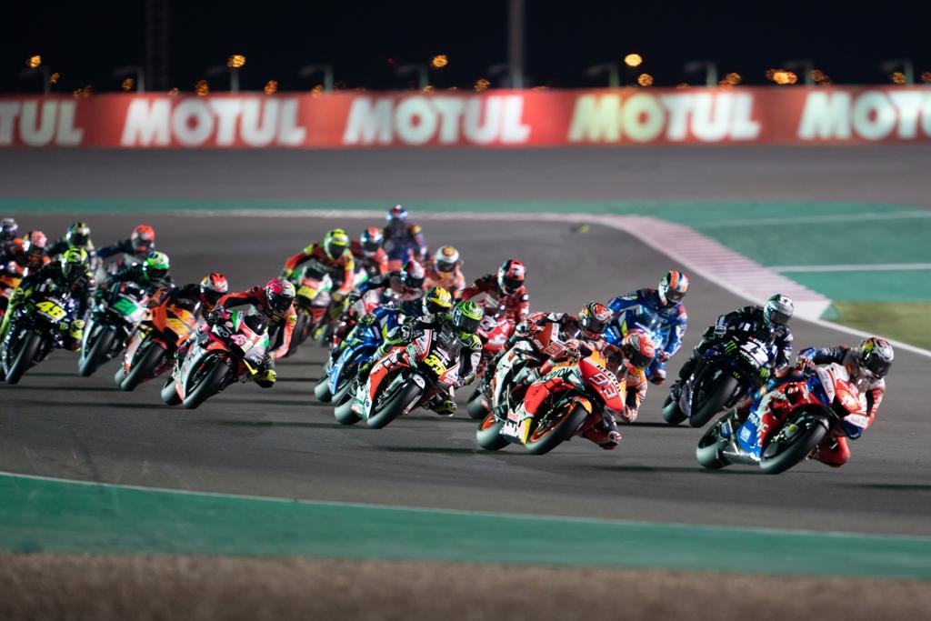 Катар, старт, MotoGP