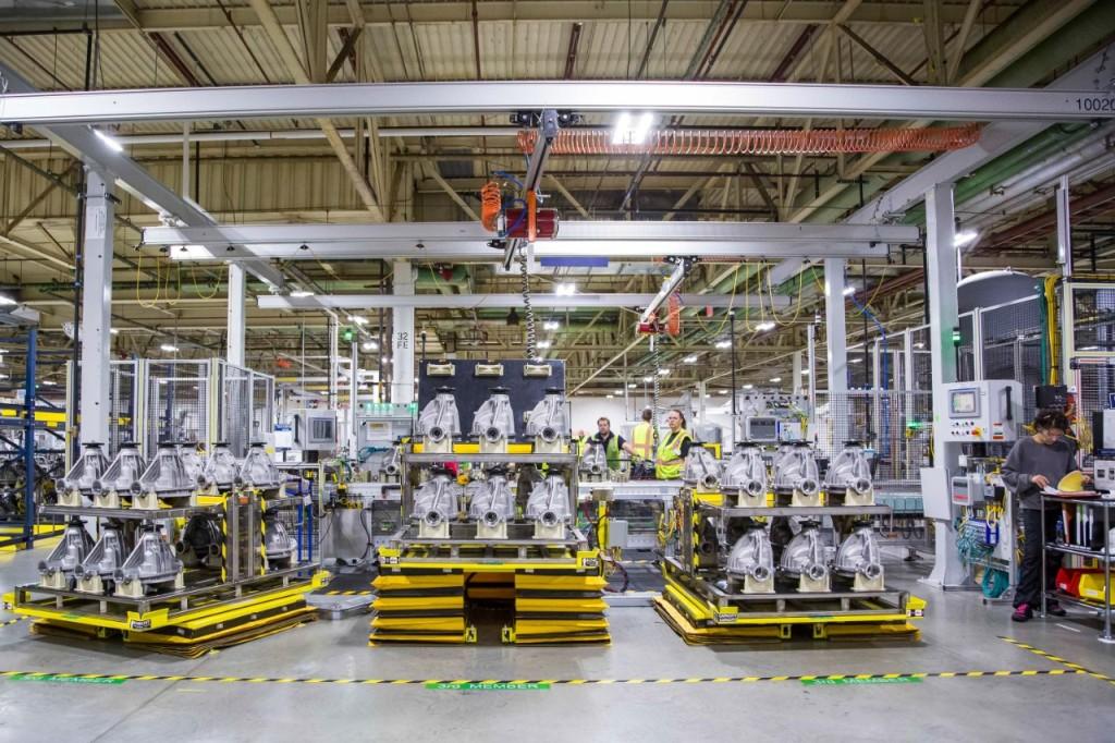 GM, производство, завод, фабрика, съоръжение