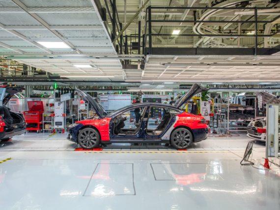 Tesla, завод, фабрика, съоръжение, производство