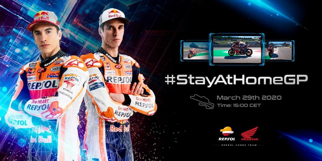 #StayAtHomeGP MotoGP