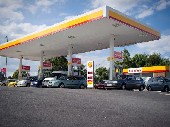 бензиностанция Shell