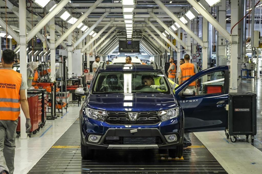 Dacia, производство, завод, фабрика, съоръжение