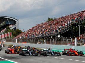 старт, Гран при на Испания, Формула 1