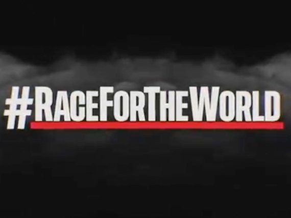 #RACEFORTHEWORLD
