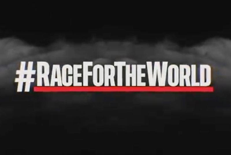 #RACEFORTHEWORLD