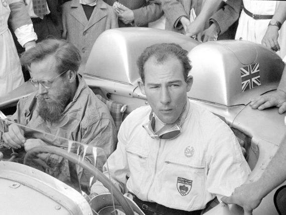 Стърлинг Мос, Денис Дженкинсън, Мерцедес-Бенц 300 SLR, W196 S