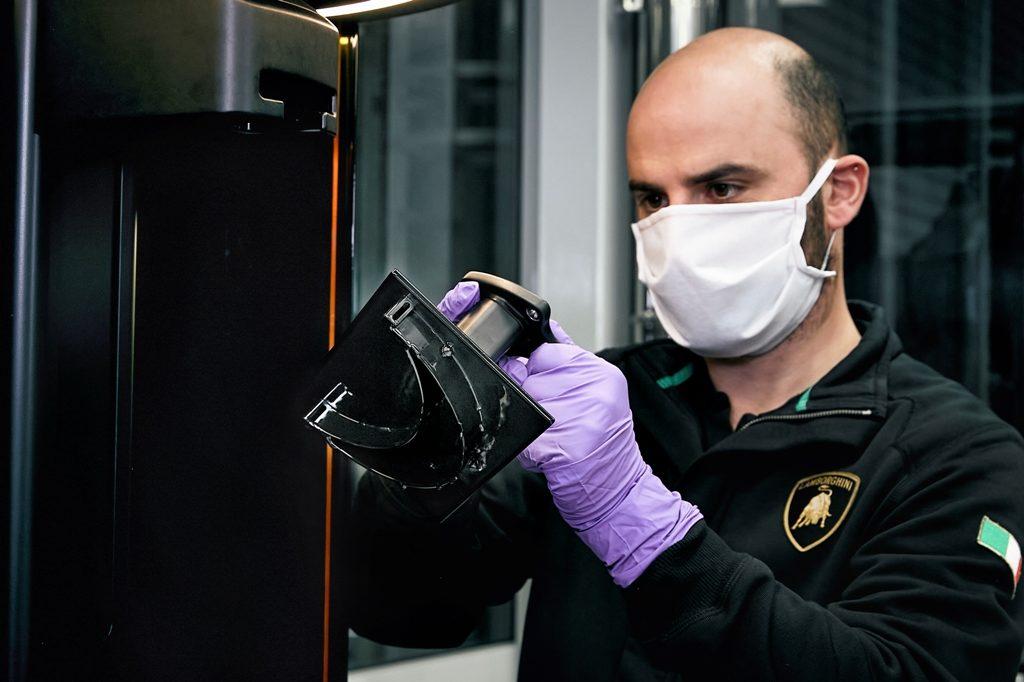 Lamborghini маски, маска