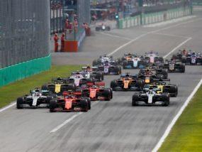 Гран при на Италия 2019, старт, Формула 1