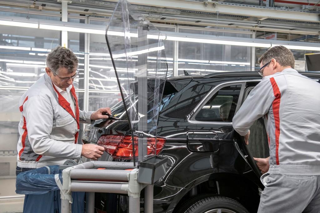 Audi, фабрика, съоръжение, завод, производство, работа