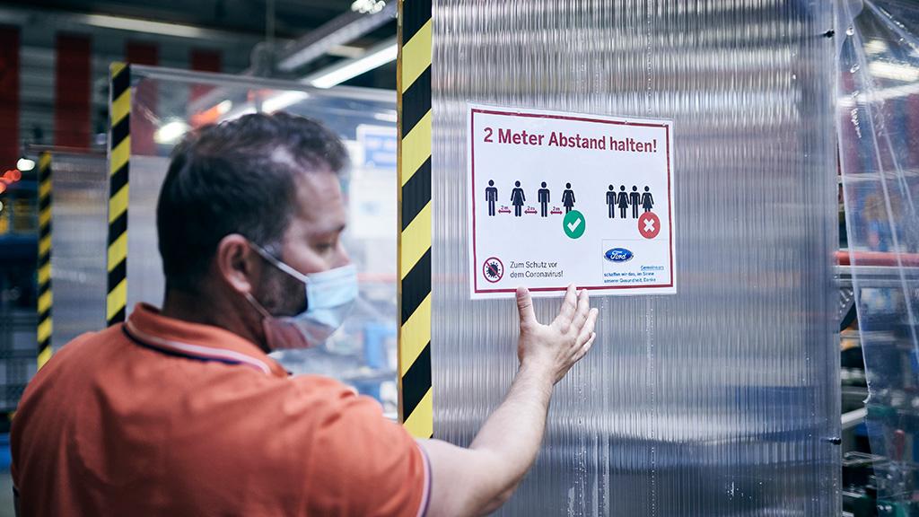 Ford, производство, мерки за безопасност